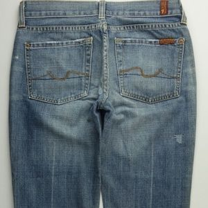 7 for All Mankind Boot Cut Women's 27 Jeans C028P